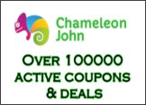 Online Coupons, Promo Codes, Discounts & Deals - ChameleonJohn