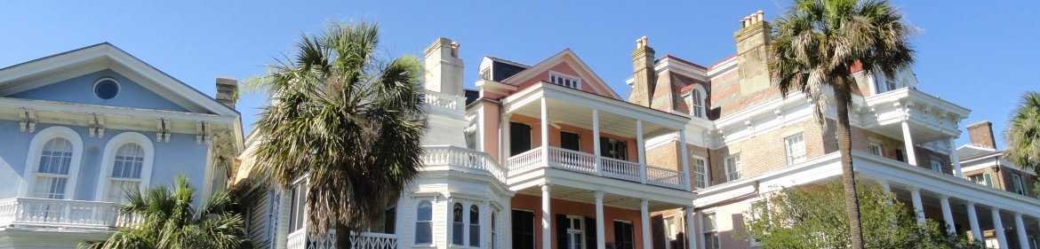 Historic Charleston Battery Homes